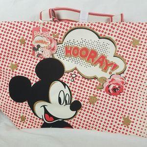 Cath Kidston x Disney Mickey Hooray Bag